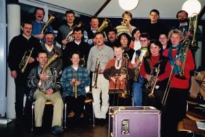 Bei der ersten Probe am 7. März 1999